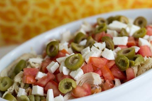 beslenme, dengeli beslenmek, Gıda, salata içeren Ücretsiz stok fotoğraf