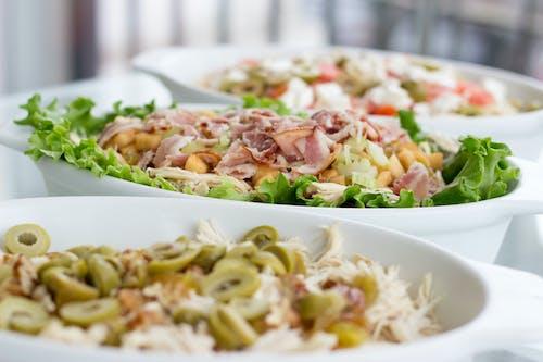 dengeli beslenmek, Gıda, sağlıklı, salata içeren Ücretsiz stok fotoğraf
