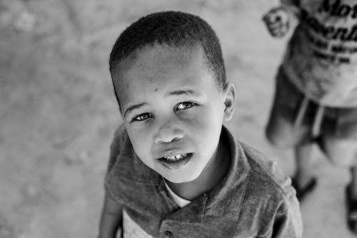 Photos gratuites de enfant, expression du visage, garçon