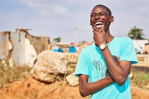 Imagine de stoc gratuită din bărbat afro-american, bărbat de culoare, fericit, om