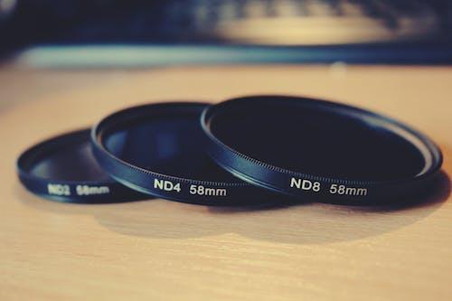 Kostenloses Stock Foto zu filter, kameraausrüstung
