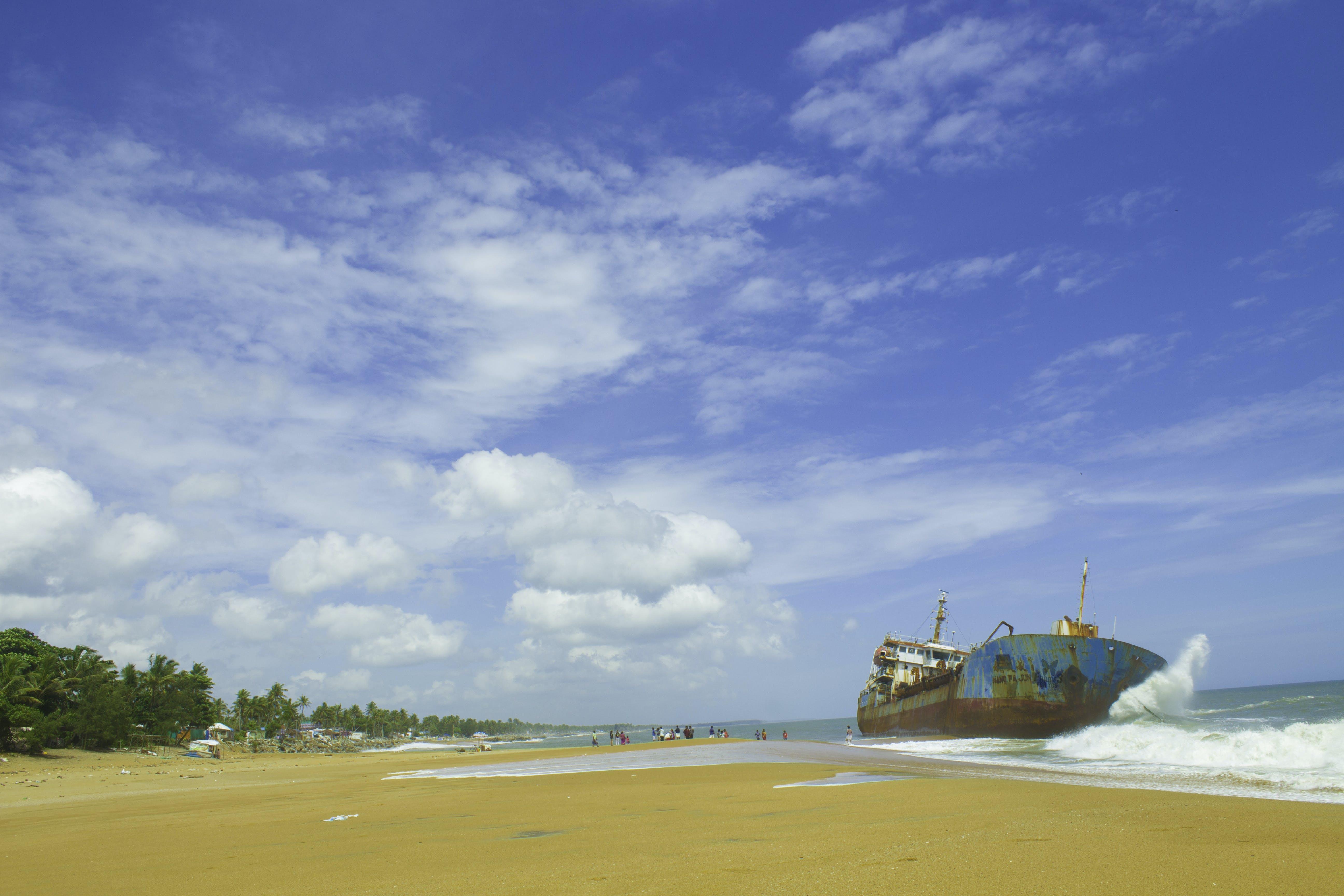 Free stock photo of beach, blue sky, by the sea, kerala