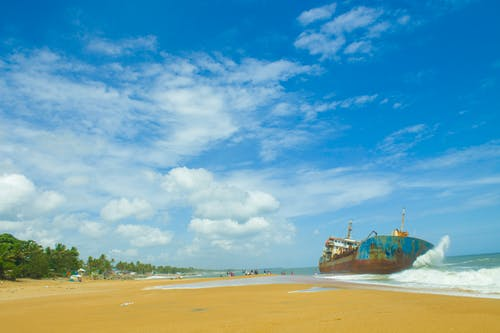 Free stock photo of beach, blue sky, by the sea, kerala