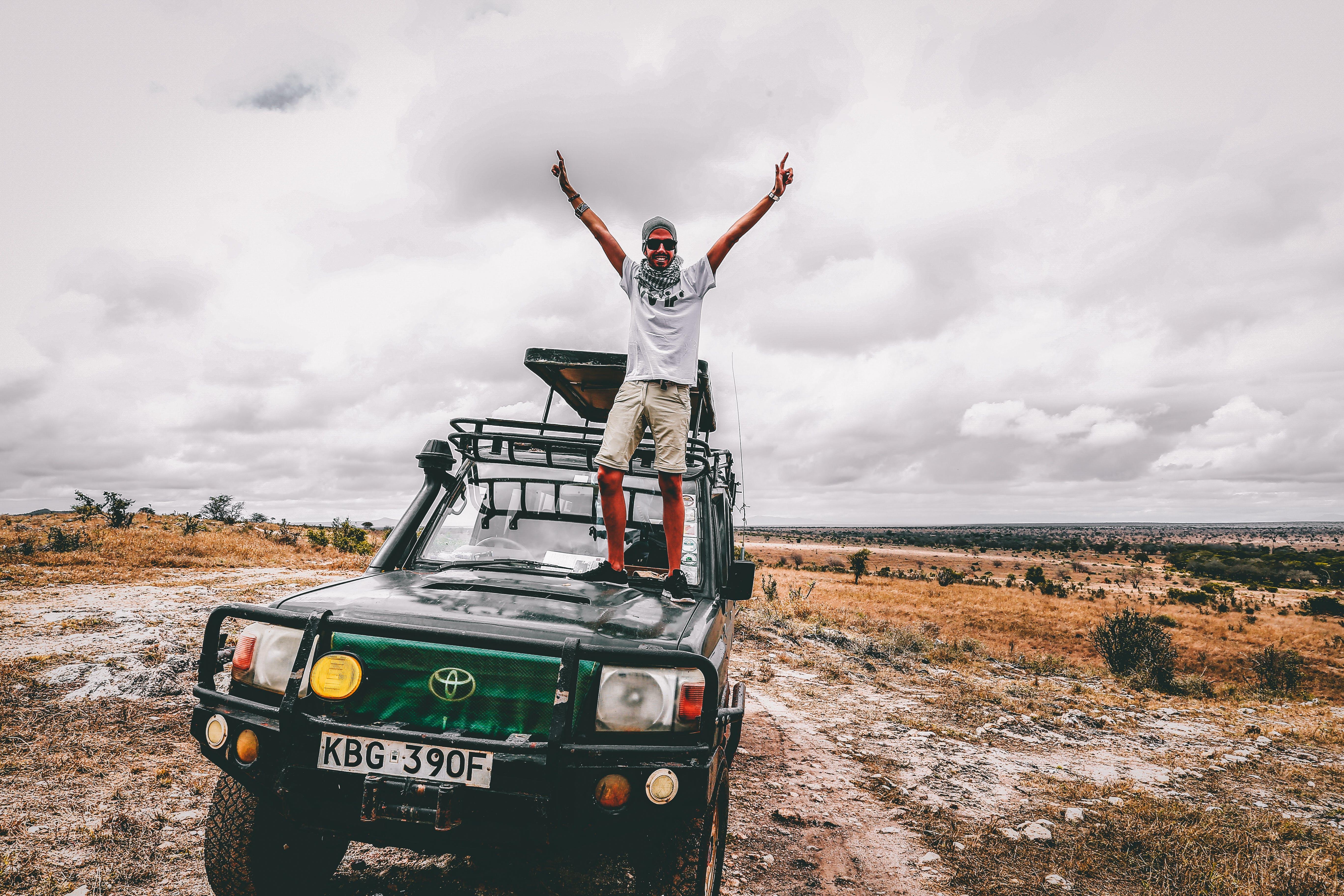 도로, 모험, 성인, 차의 무료 스톡 사진