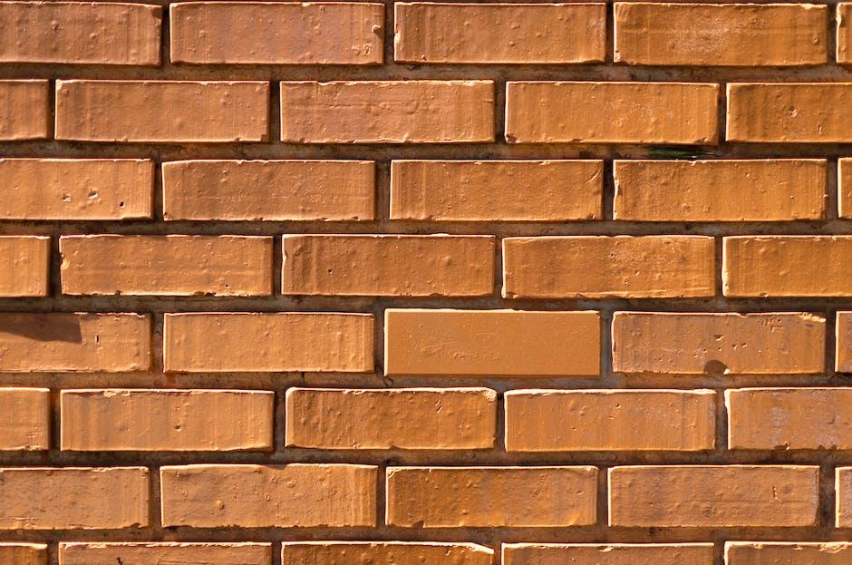 Brow concrete wall bricks