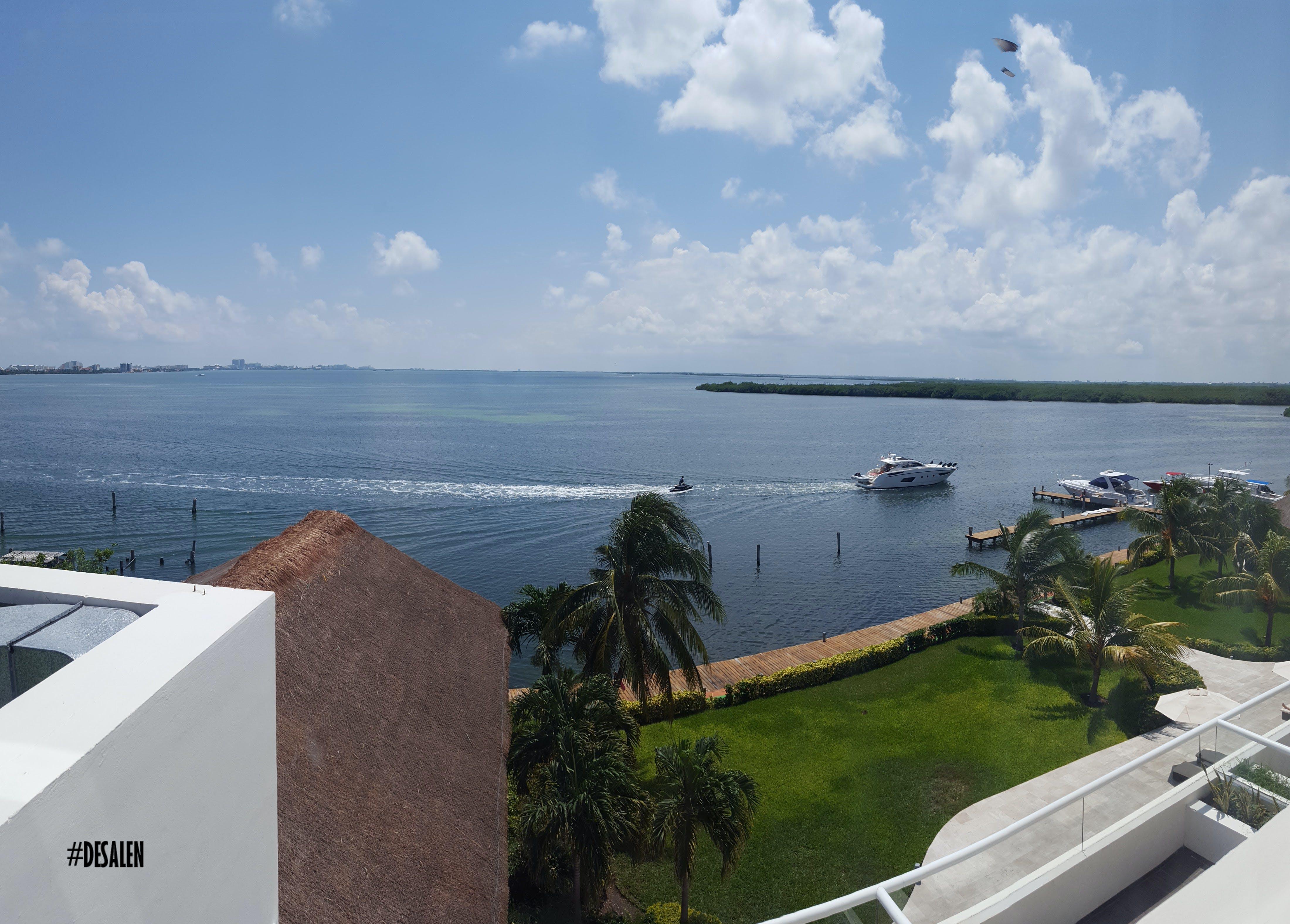 Gratis lagerfoto af båd, balkon, hav, himmel