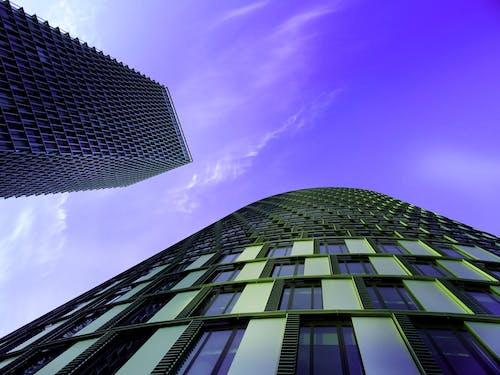bakış açısı, bina, cam eşyalar, en uzun içeren Ücretsiz stok fotoğraf