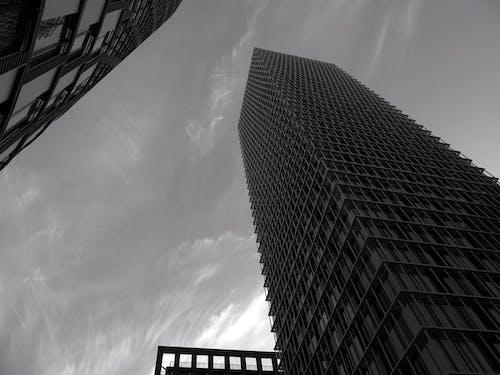 bakış açısı, bina, en uzun, gökdelen içeren Ücretsiz stok fotoğraf