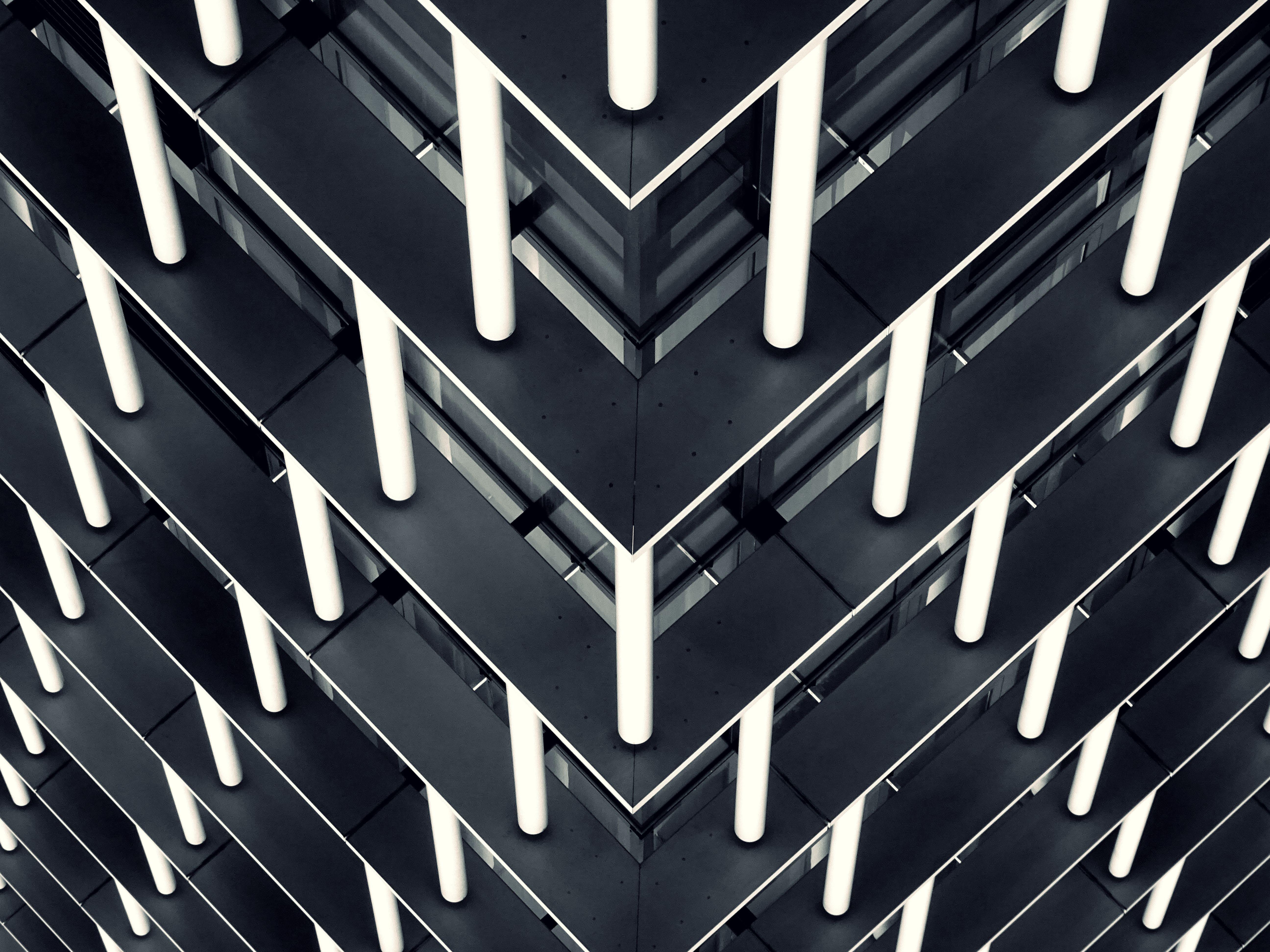 Free stock photo of pattern, design, steel, modern