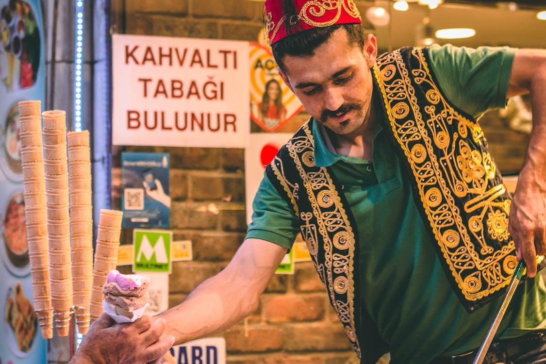 Бесплатное стоковое фото с индейка, мороженое, турецкий