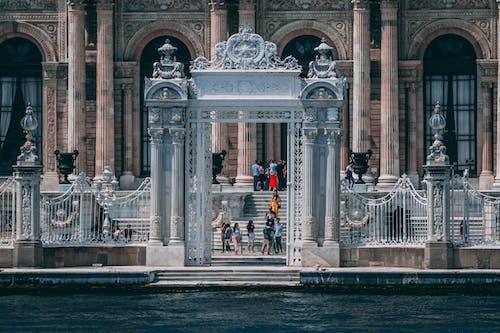 博物館, 古老的, 噴泉, 地標 的 免费素材照片