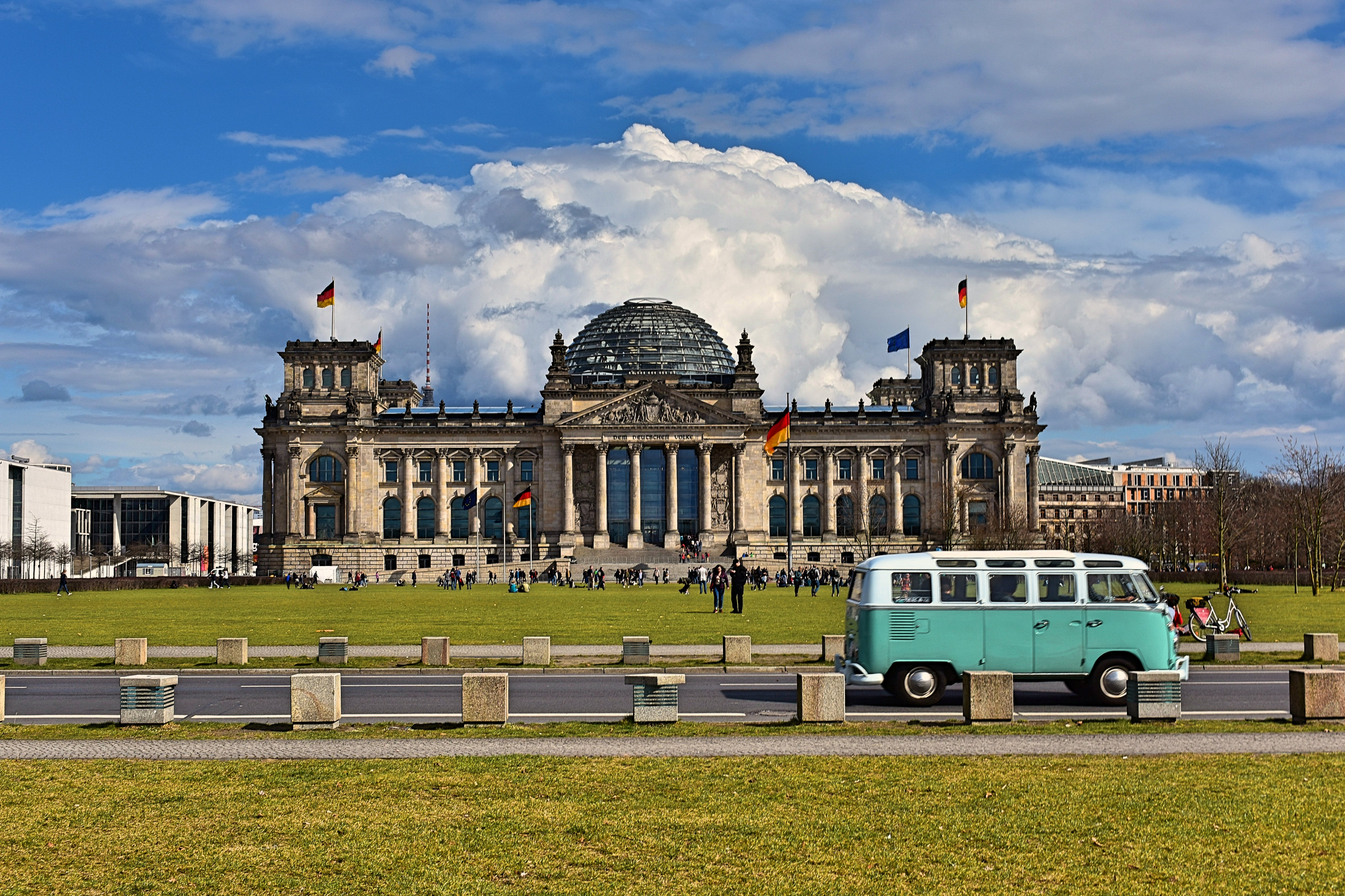 Free stock photo of reichstag building