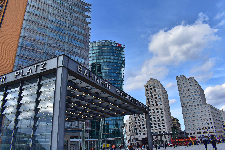 Free stock photo of capital, city, potsdamer platz, skyscrapers