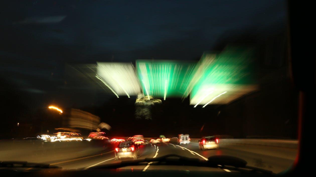 ぼやけて, ぼやけて背景, 運転するの無料の写真素材