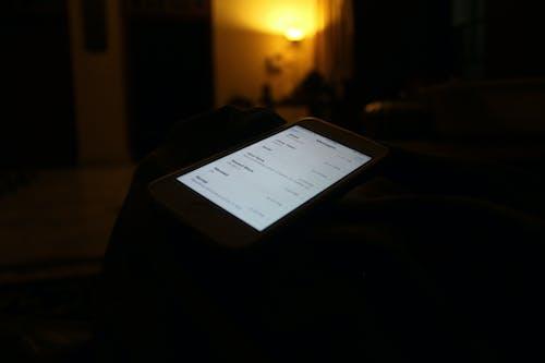 คลังภาพถ่ายฟรี ของ ข้อความ, ม็อกอัป, ไอโฟน, ไอโฟน 5 เอส