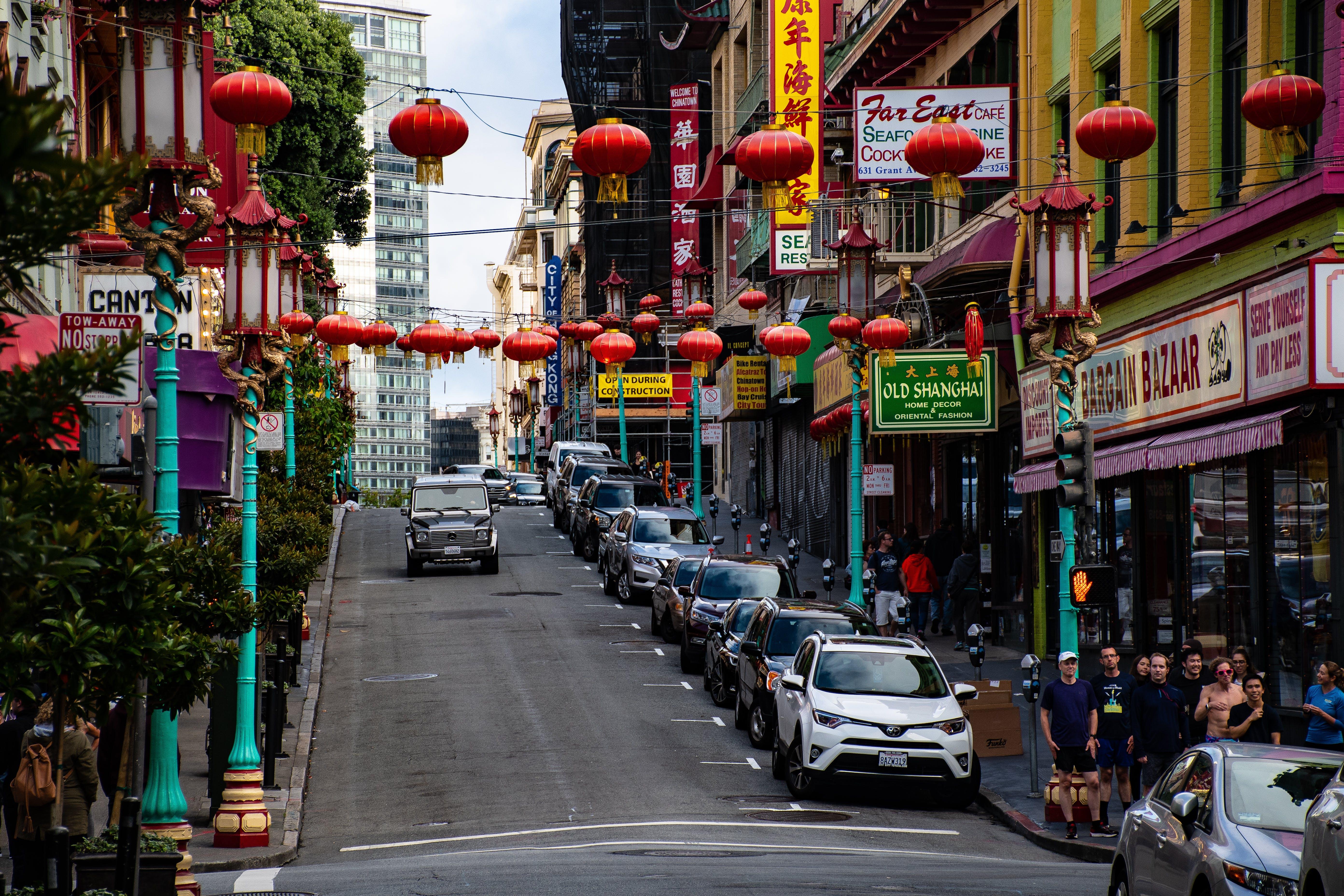 お店, シティ, ショッピング, チャイナタウンの無料の写真素材