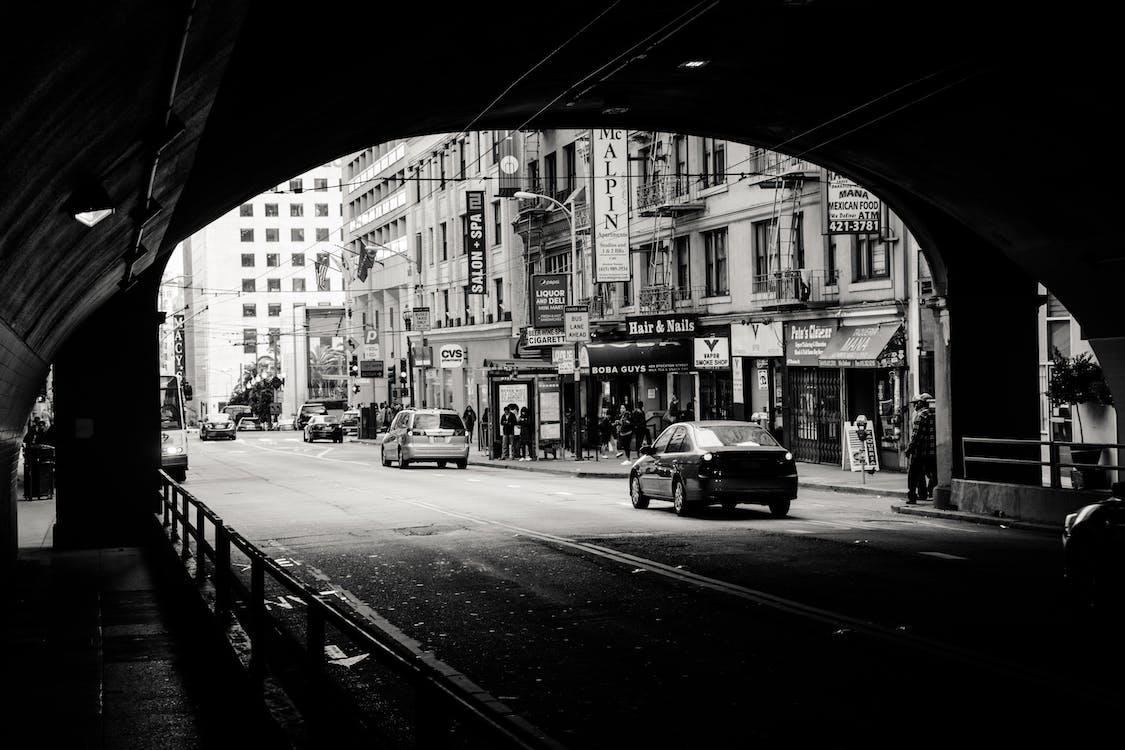 交通系統, 人, 城市 的 免費圖庫相片