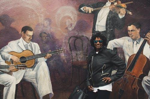 Fotos de stock gratuitas de actuación, Arte, chico de raza negra, cuadro