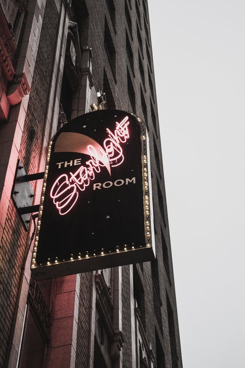 The Stralight Room Neon Signage
