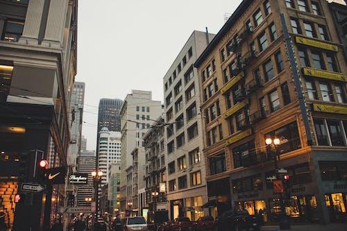 Imagine de stoc gratuită din arhitectură, autoturisme, birou, centrul orașului
