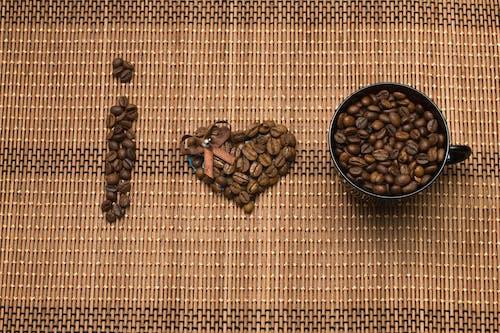 Gratis lagerfoto af Arabica, baggrund, bønner, brun