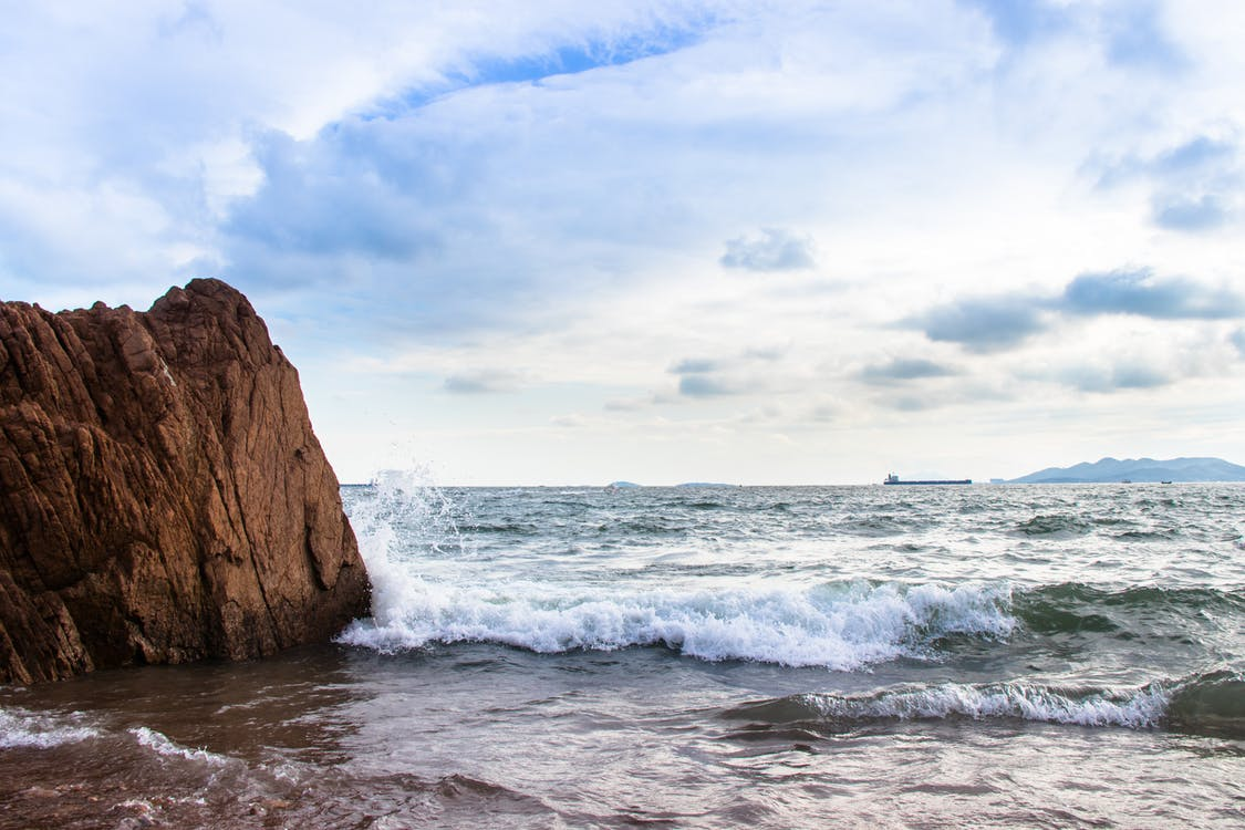 rock, Surf, ακτή