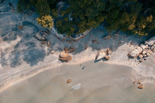 Fotos de stock gratuitas de arena, centro turístico, costa, foto aérea