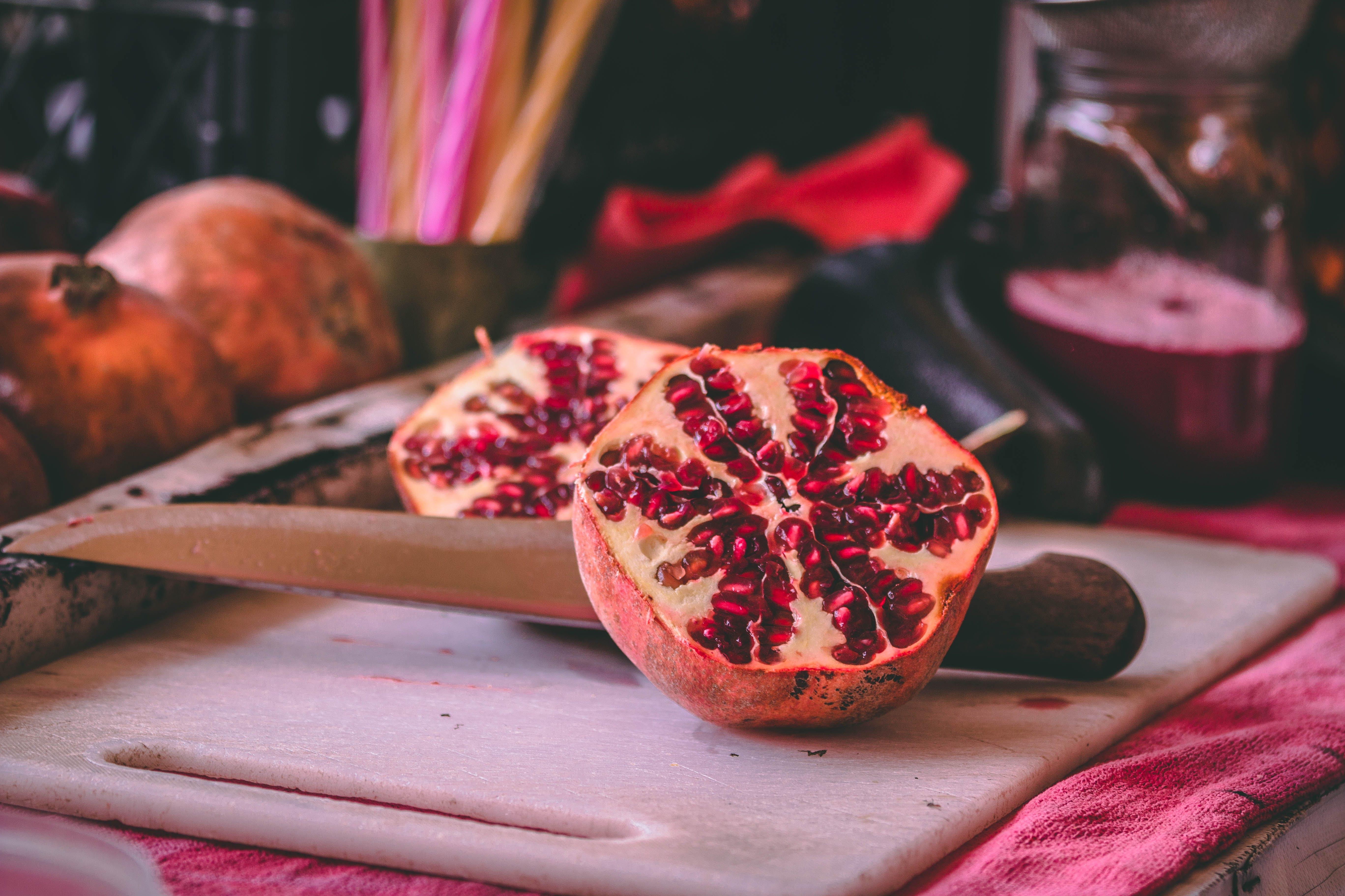 Kostenloses Stock Foto zu früchte, granatapfel
