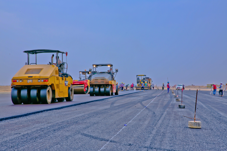 Free stock photo of construction, asphalt