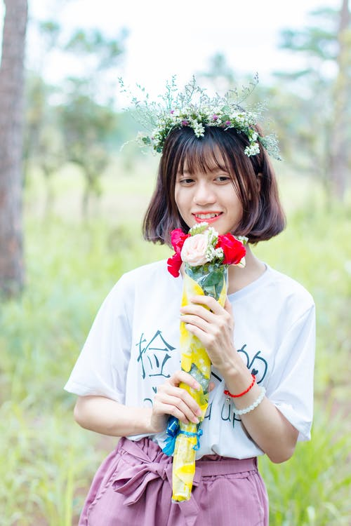 Foto profissional grátis de alegria, bonitinho, garota, garota asiática