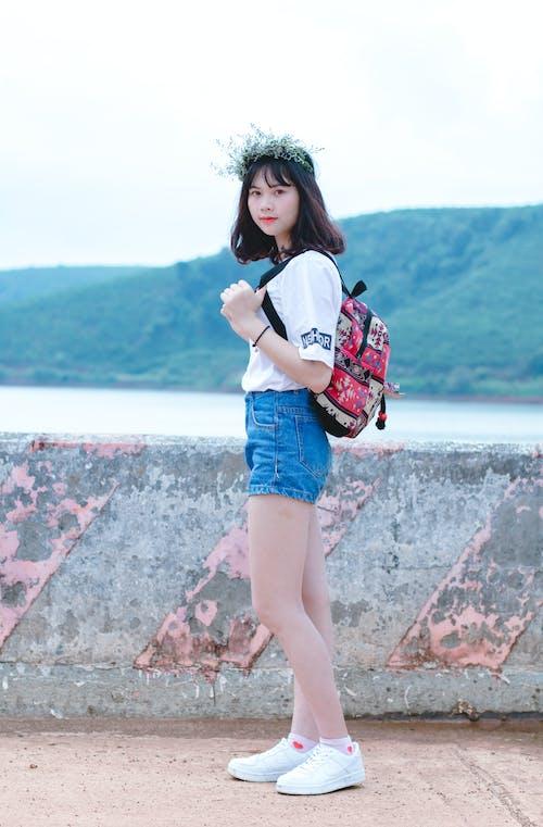 アジアの女性, アジア人の女の子, スタイル, ファッションの無料の写真素材