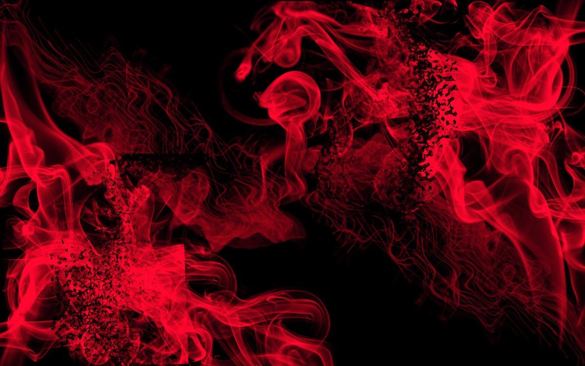 Foto stok gratis tentang #api, #merah, background hitam