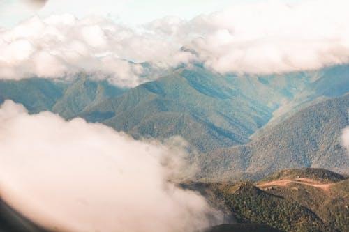 Foto stok gratis berawan, fotografi udara, langit berawan, langit mendung