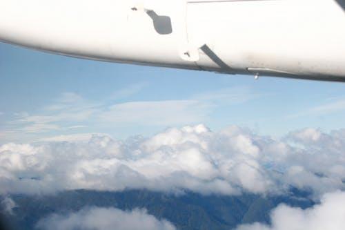 Foto stok gratis berawan, fotografi udara, langit berawan, langit biru