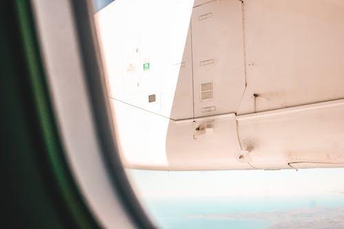 Foto stok gratis baling-baling pesawat terbang, bayangan, kapal terbang, langit