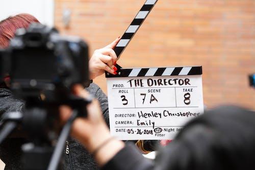 Ilmainen kuvapankkikuva tunnisteilla elokuvaohjaaja, elokuvat, kuvaus, läppä