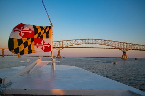 Free stock photo of boat, bridge