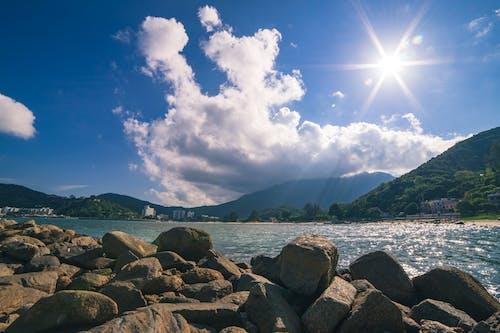 Ingyenes stockfotó ég, felhők, felhős égbolt, hegyek témában