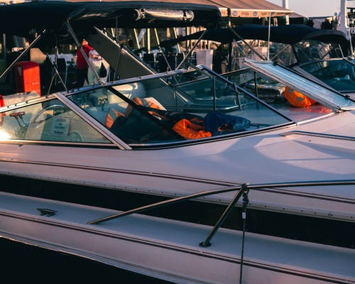 Gratis stockfoto met aangemeerd, boot, olympische winterspelen, speedboot