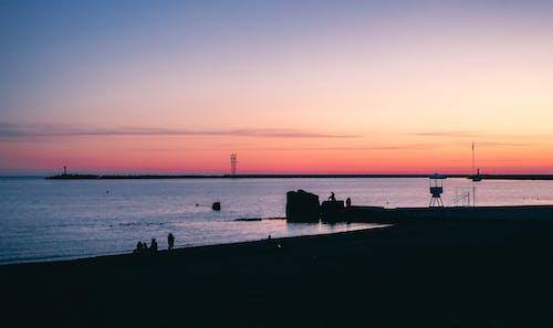 Gratis lagerfoto af aften, båd, badebro, dagtimer