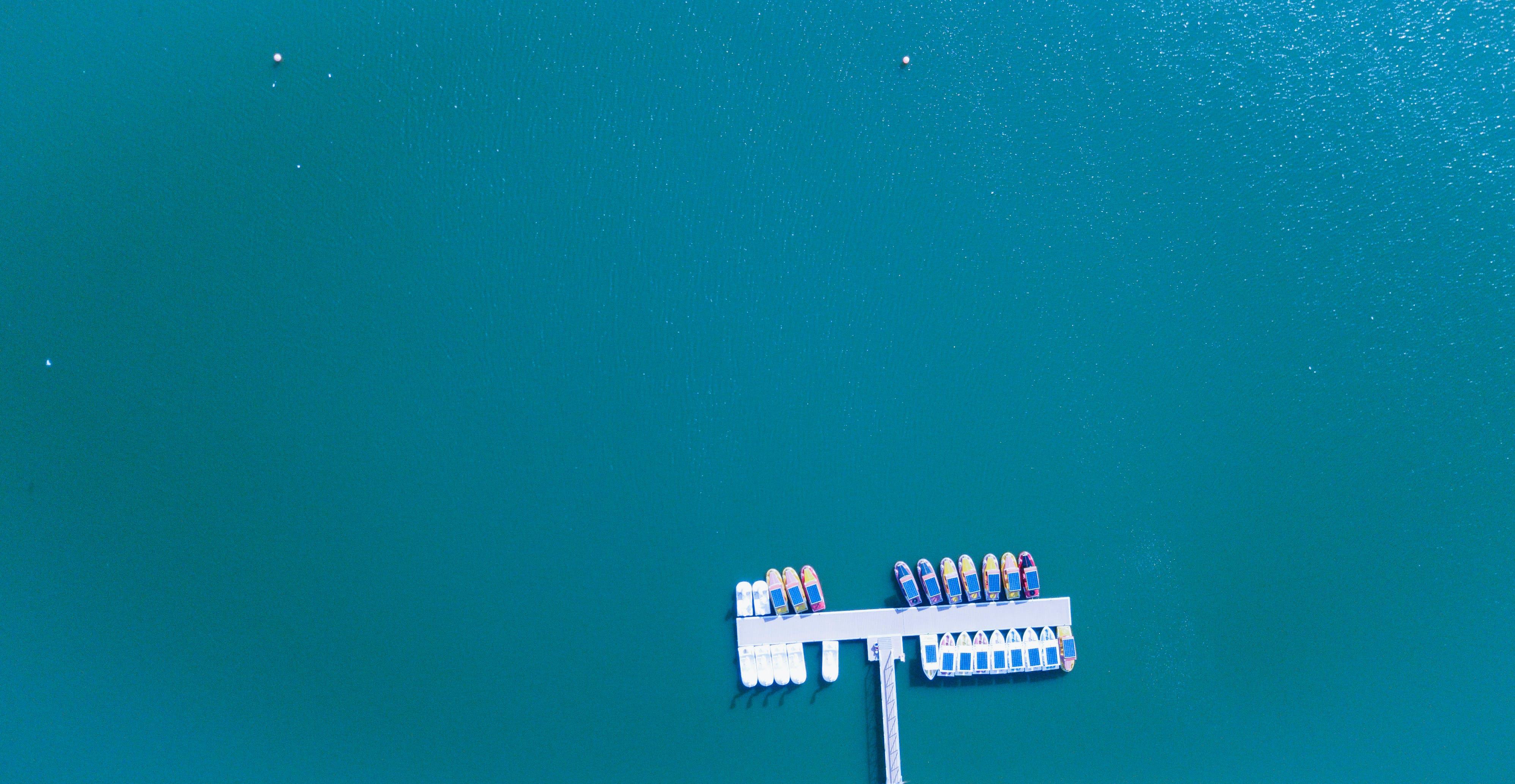 Free stock photo of sea, bird's eye view, water, ocean