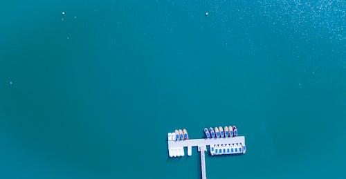 Immagine gratuita di acqua, attraccato, banchina, barche