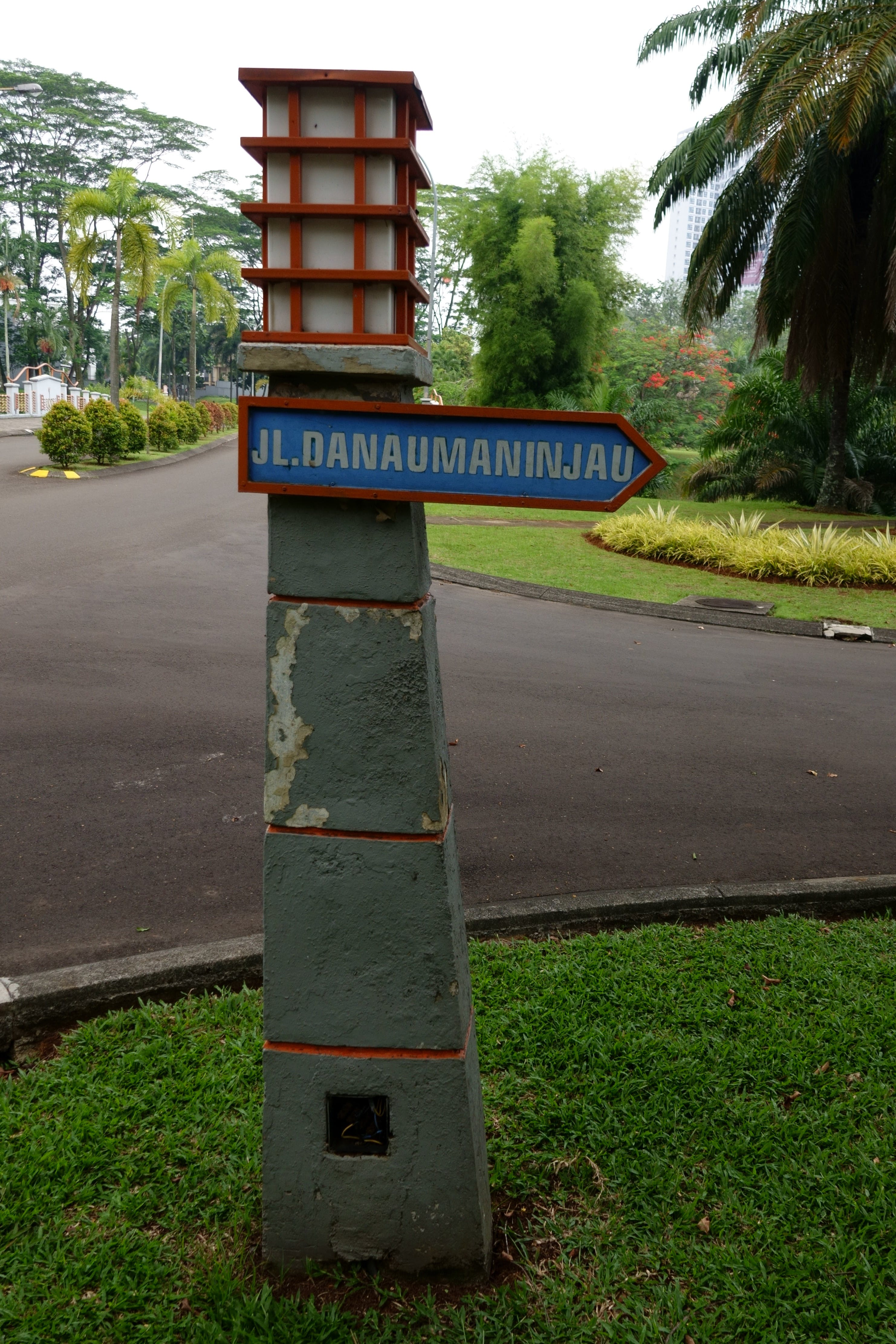 Free stock photo of grass, indonesia, road, road sign
