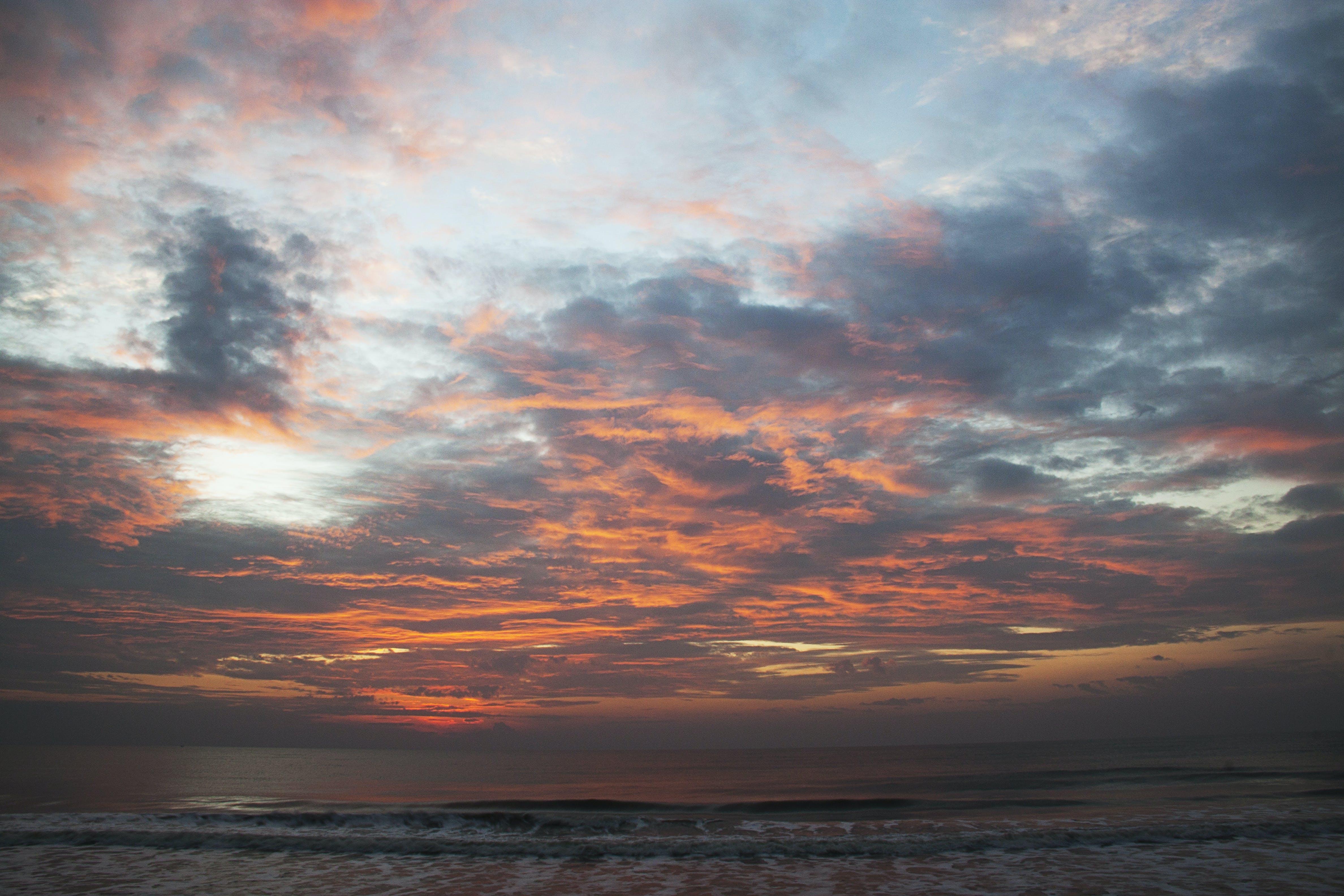 Free stock photo of cloudy, morning, morning sun, sunrise