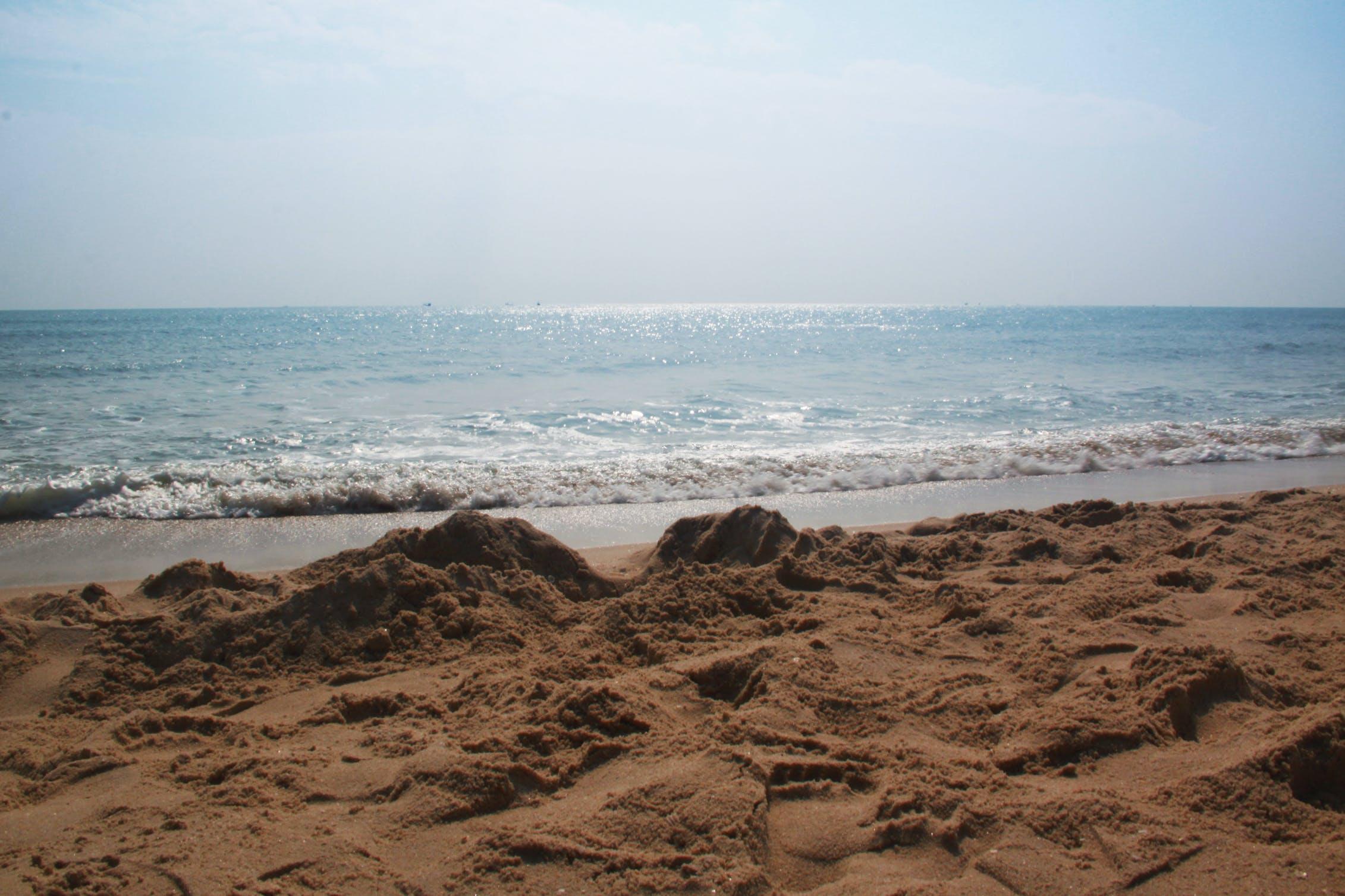 Free stock photo of beach, landscape, sand, sea