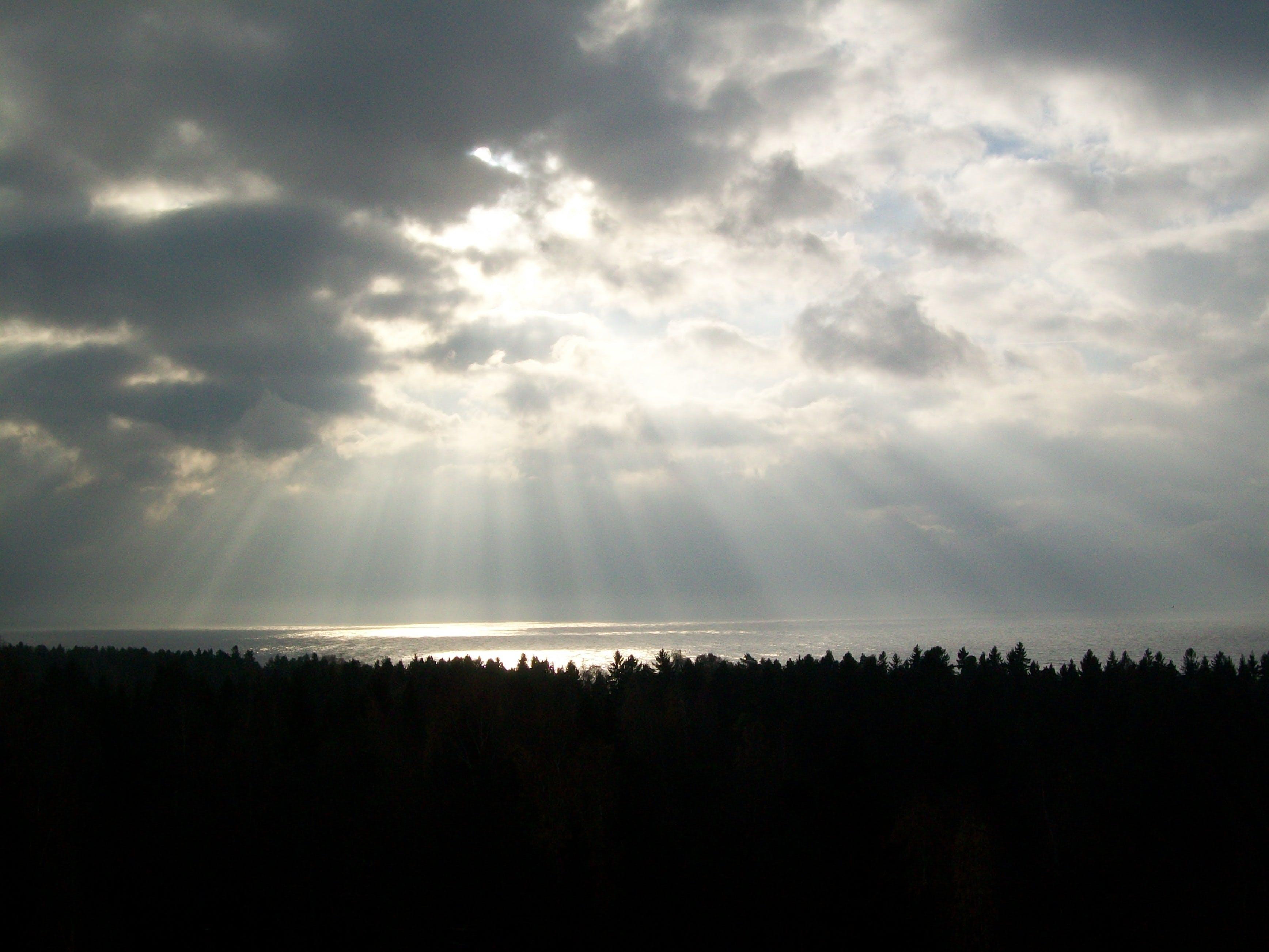 Free stock photo of landscape, sky, sun