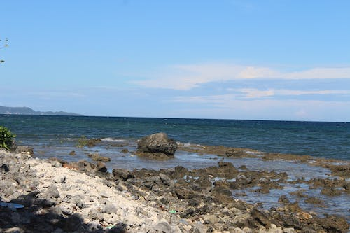 Free stock photo of beach front, rock formations, shoreline