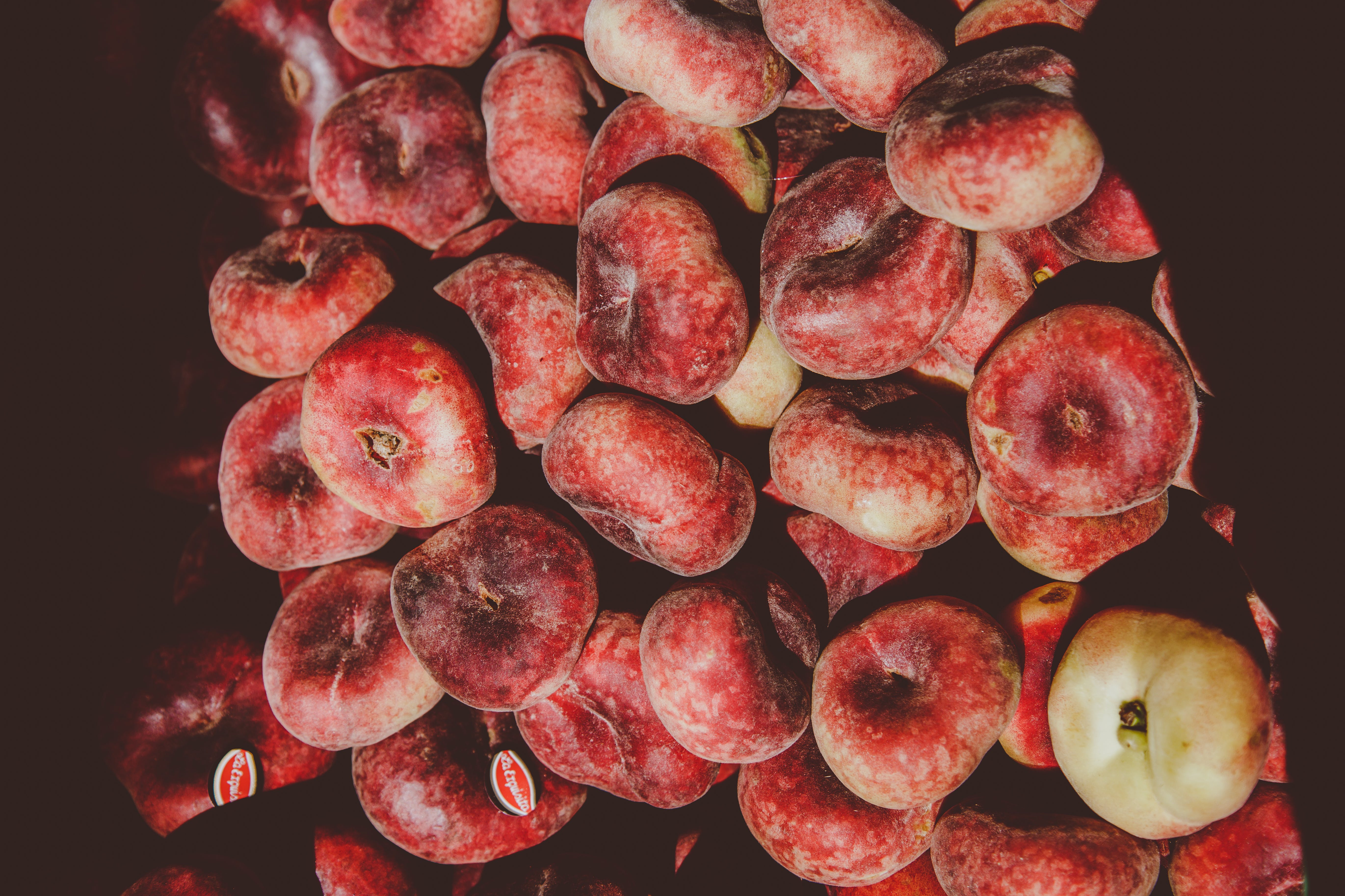 Pile of Round Red Fruits
