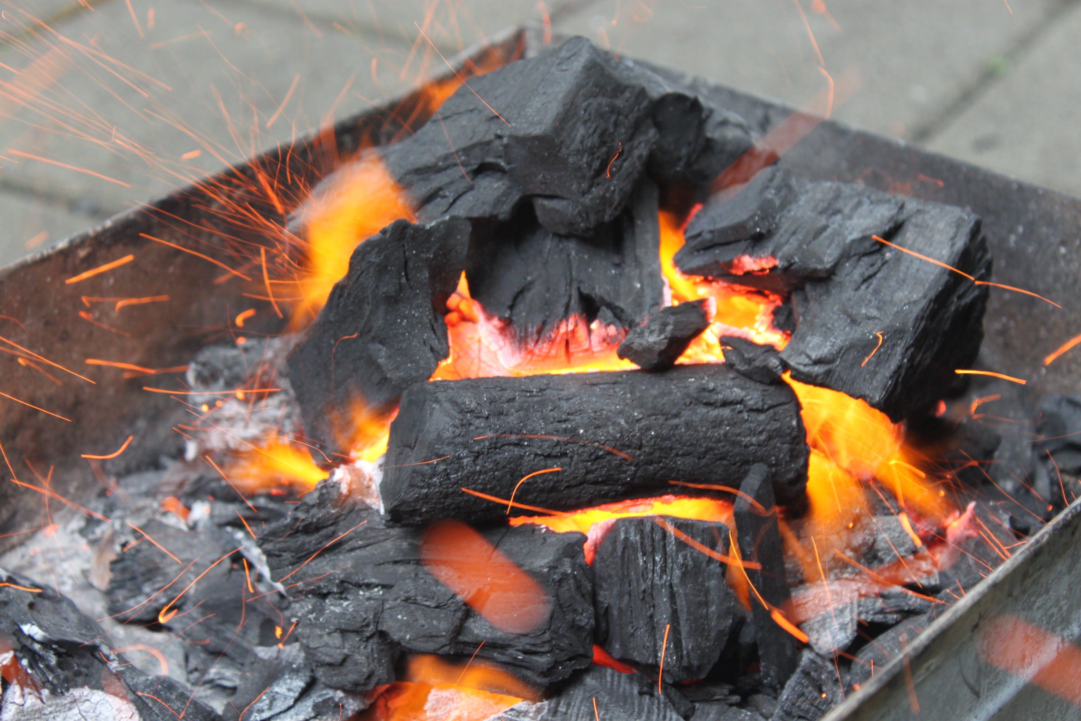 Gratis lagerfoto af brand, kul