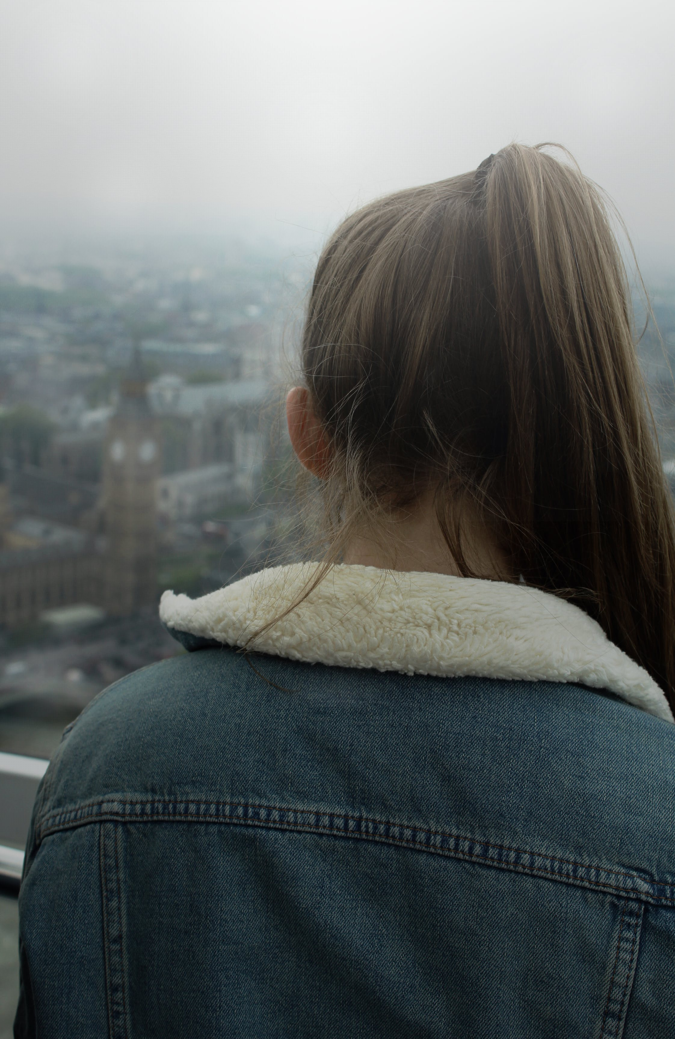 Free stock photo of big ben, denim, denim jacket, england